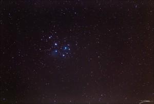 30JAN16 Pleiades Wide