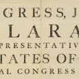 Pay attention to the 'Facts…submitted to a candid world'. IN CONGRESS, July 4, 1776. The unanimous Declaration of the thirteen united States of America, When in the Course of human […]
